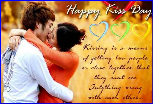 Happy kiss day images with wishes  – Kiss day messages, quotes and pictures