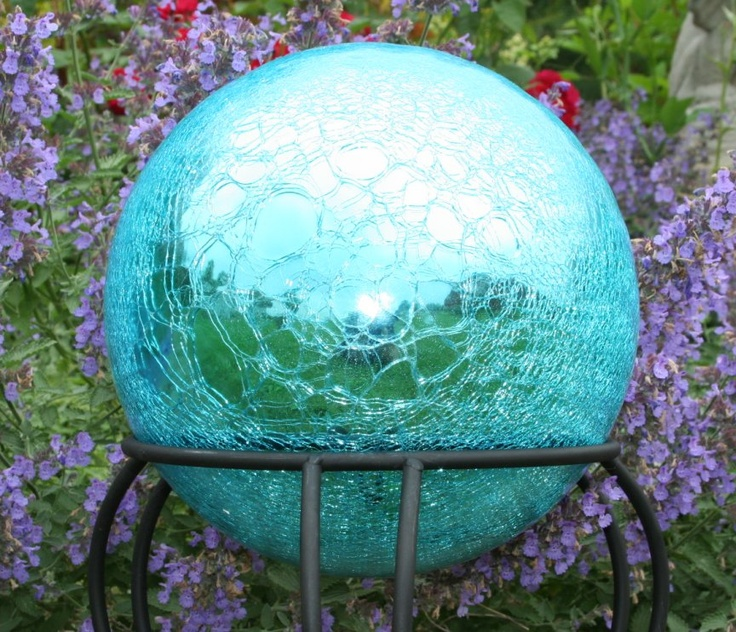 111 best images about gazing balls on pinterest gardens mosaics and solar. Black Bedroom Furniture Sets. Home Design Ideas