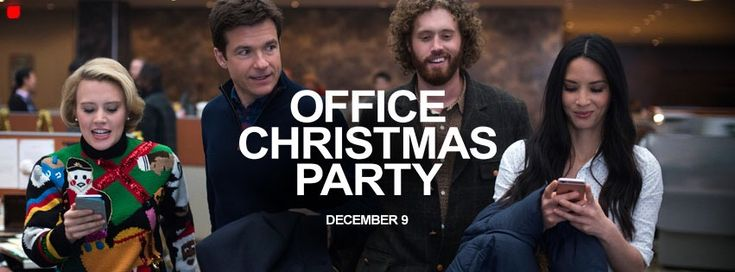 #OfficeChristmasParty  The wrong way to have an office party.  My quick read movie review is posted.  Follow all of my movie reviews via FB M.U.S.E. Enthusiasts and https://museenthusiasts.wordpress.com/
