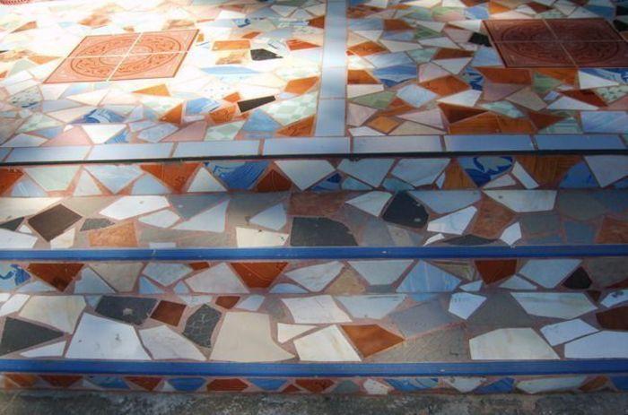 Творчество из остатков плитки – Своими руками
