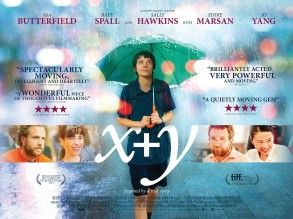 ASKKPOP,DRAMASTYLE X + Y A Brilliant Young Mind, is a 2014 British drama film directed by Morgan Matthews  starring Asa Butterfield  , Rafe Spall  and Sally Hawkins  .who won a silver medal  at the 2006 IMO.The European premierewas at the BFI London Film Festival  on 13 October 2014,and the UK cinema release was on 13 March 2015.The film heavily features previously recorded songs by Keaton Henson  .Nathan Ellis, a 9-year-old math prodigy, has just lost his father in a car accident. Nathan is…