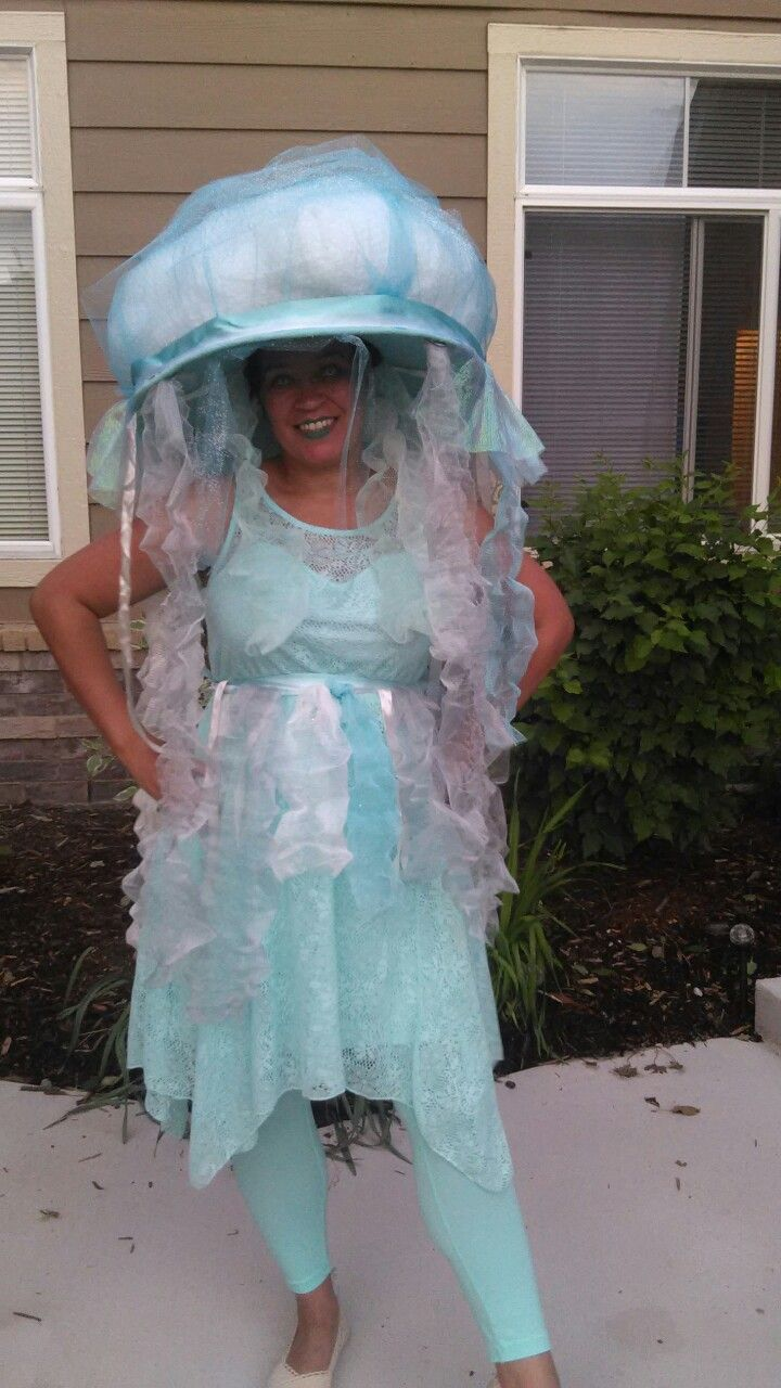 Jelly fish costume, took 4 hours to make because it was my first attempt.