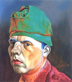 Philip Akkerman, zelfportret