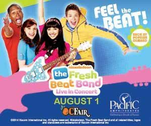 Fresh Beat Band at the OC Fair ticket giveaway!!