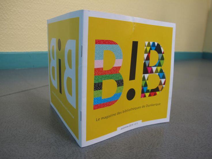 Dunkerque: coloré et éclectique, voici «B!B», le magazine des bibliothèques  : Le réseau des bibliothèques de Dunkerque s'ouvre encore un peu plus au monde, avec la sortie d'un magazine, baptisé «B!B». - Dunkerque - La Voix du Nord
