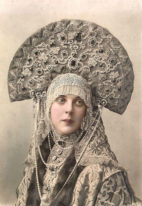 Княгиня Орлова на костюмированном балу 1903 г. | Фото: hermitagemuseum.org