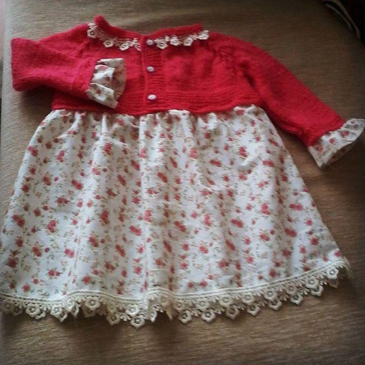 �� Bebek elbisesi���� #bebekelbisesi #örgü #elişi #hobi http://turkrazzi.com/ipost/1521202710883669097/?code=BUcZc5NlRRp