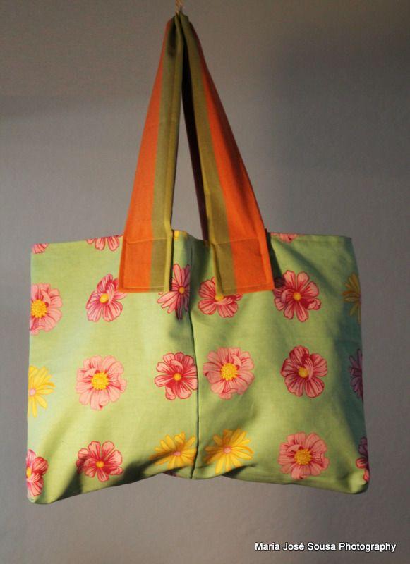 Saco Primavera (algodão) - 33x49cm - 11.50€