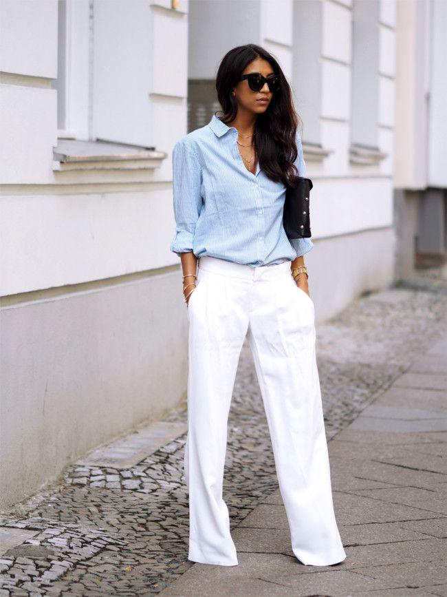 Los flare trousers, esa tendencia que juraste no volverte a poner (y que ahora te encanta)