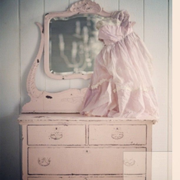 Vintage Pink Dresser From Rachel Ashwell Shabby Chic CoutureR