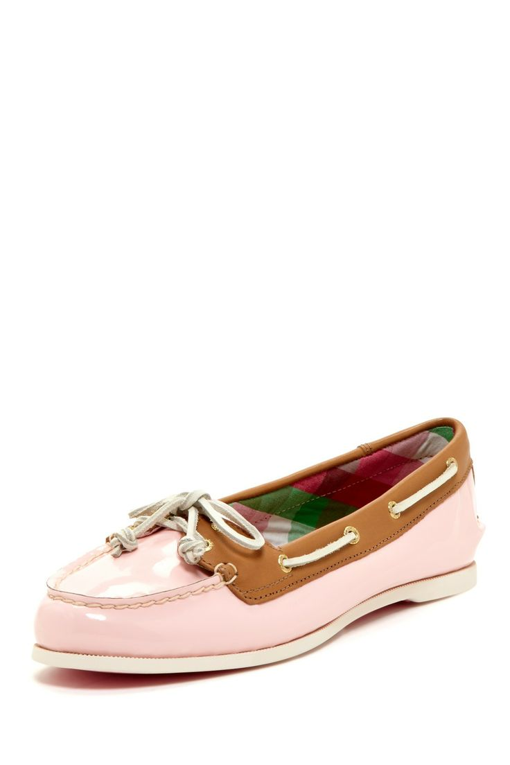 Sperry Top-Sider Audrey Patent Boat Shoes//