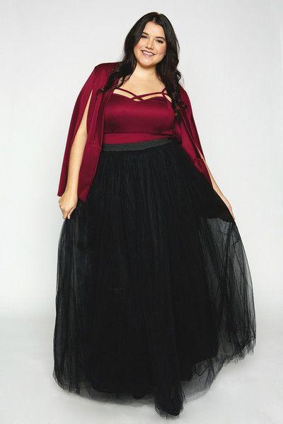 Cool Gal Tutu - Long Black (Sizes 2X - 6X)