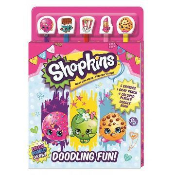 Shopkins : Doodling Fun! (Paperback) (Editors of Silver Dolphin Books)