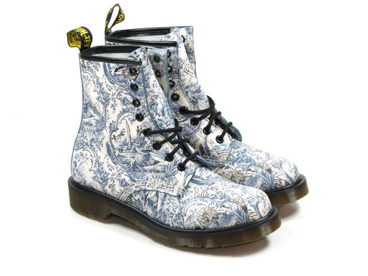 Buty Dr.Martens 1460 BLUE ON WHITE