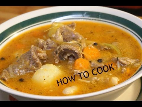 HOW TO MAKE JAMAICAN BEEF SOUP RECIPE JAMAICAN ACCENT 2016 - YouTube