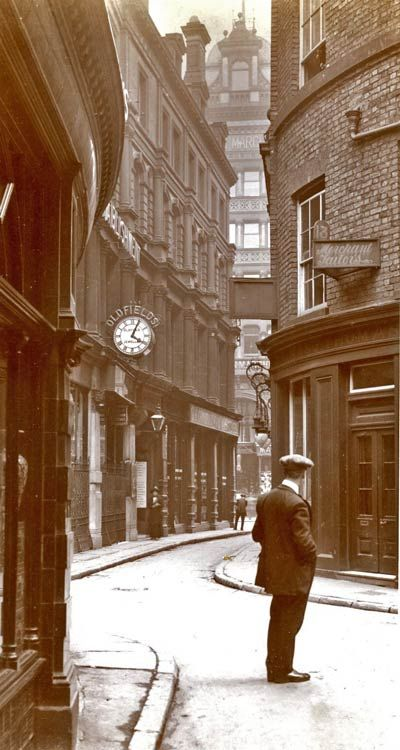 Old Post Office Place, Liverpool 1913
