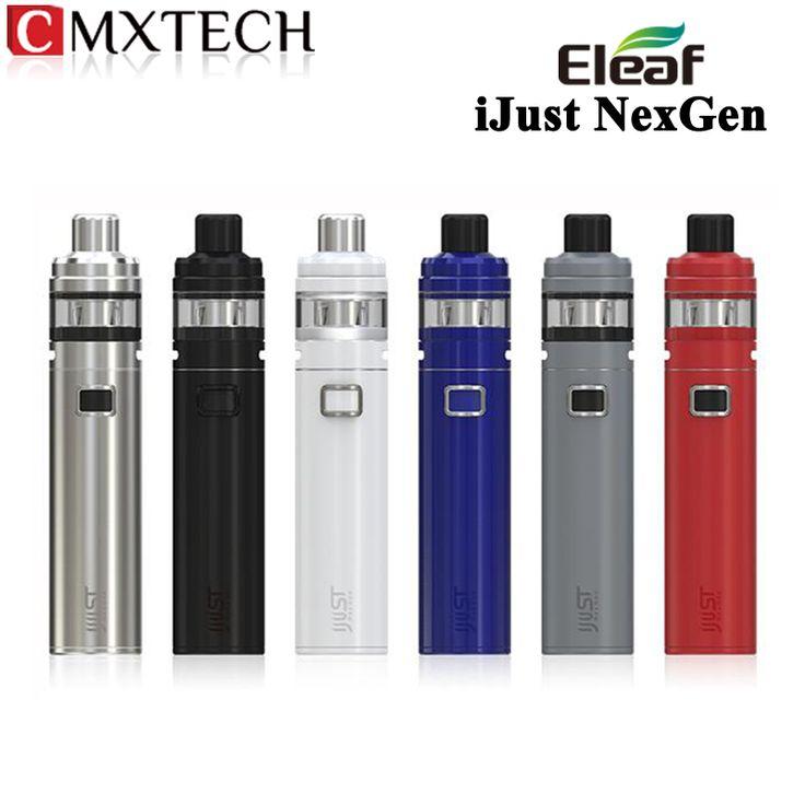 Электронная сигарета iJust NexGen на 3000 мАч батареи 50 Вт.И два бака 2 и 4 мл.http://ali.pub/1mpuf6