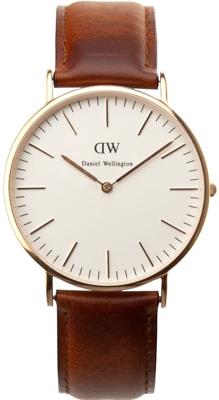 Daniel Wellington Classic St Andrews Men Rosegold  www.danielwellington.com