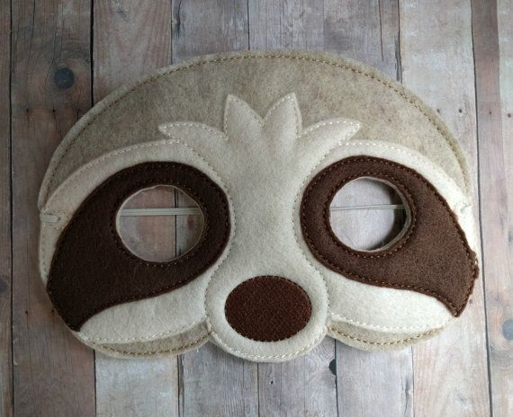 1000 ideas about felt mask on pinterest masking felt for Sloth mask template