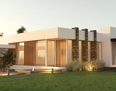 """Check out new work on my @Behance portfolio: """"House in Córdoba, Argentina ---------------------------"""" http://be.net/gallery/31806867/House-in-Cordoba-Argentina-"""