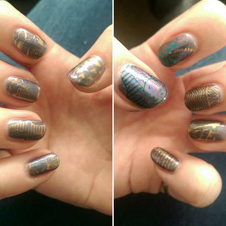 Egyptian nails moyou explorer plate