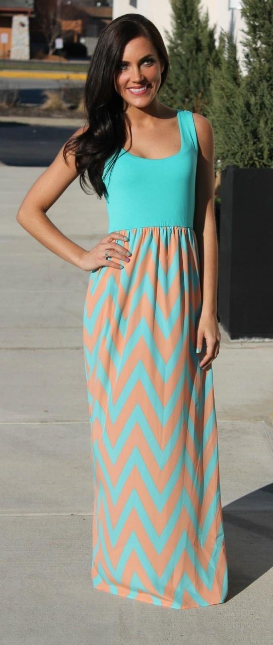 Gorgeous Maxi! Love the colors!