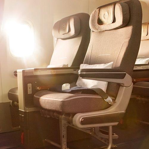 New Lufthansa Premium Economy seats save 50% with #AirConcierge