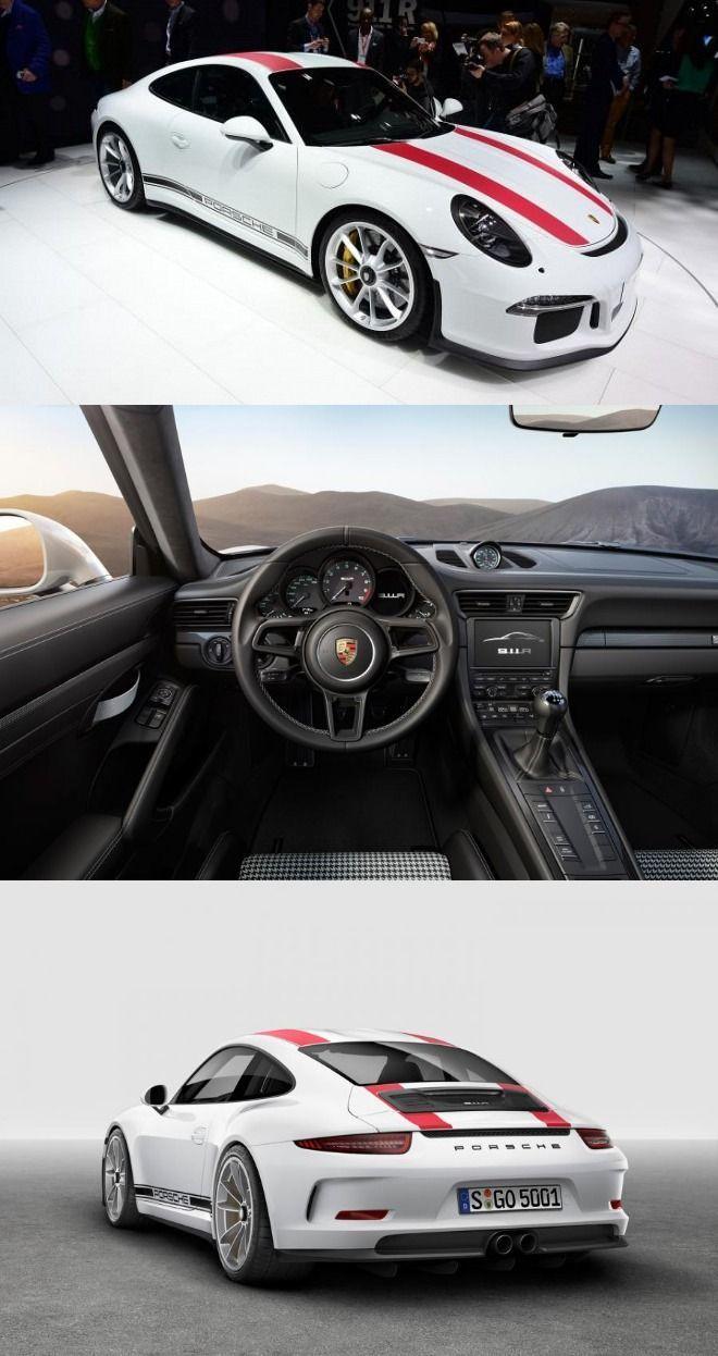 New Porsche 911R Unveiled at Geneva Motor Show