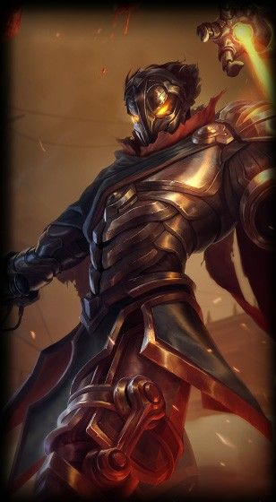 All About Me: This is Viktor, The Machine Herald. He is my favorite character in one of my favorite games, League of Legends.