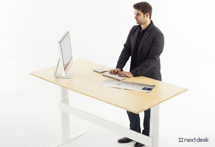 NextDesk Terra adjustable standing desk