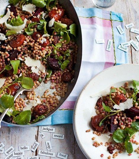 Chorizo-beetroot-salad