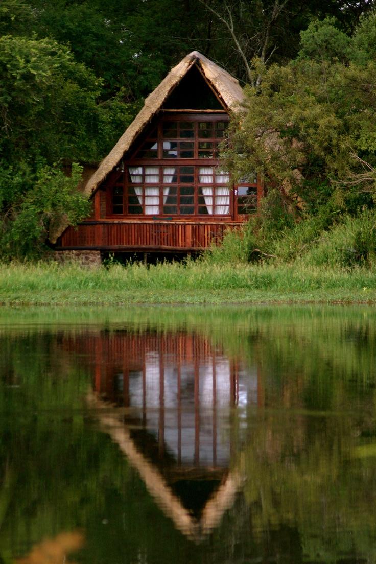 Our beautiful Island Lodges, Antelope Park's premier rooms