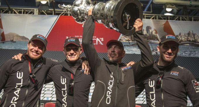 ORACLE TEAM USA vince la 34ma America's Cup con una rimonta storica