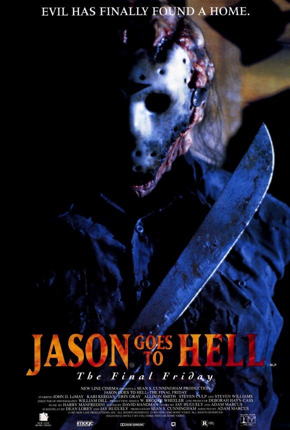 Jason Goes to Hell: The Final Friday , starring John D. LeMay, Kari Keegan, Kane Hodder, Steven Williams. Serial killer Jason Voorhees' supernatural origins are revealed. #Horror #Thriller