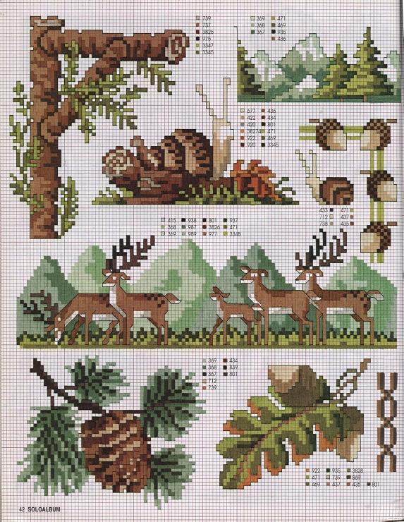 Gallery.ru / Фото #41 - SUSANNA SOLOALBUM 2002-11 + Архив - Mosca - Wilderness cross stitch