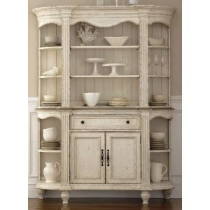 riverside coventry two tone server and hutch from onewa