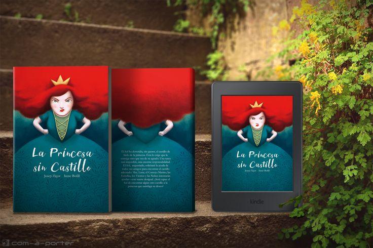Maquetación de cuento infantil para CreateSpace (Amazon) y ebook para Kindle.