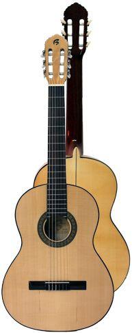 Ver Modelo B5Fnts Especial (Natural - Tapa Sicomoro): Guitarra Flamenca del Constructor Francisco Bros, en el Blog de guitarra Artesana