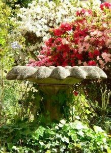 How to Seal a Concrete Bird Bath     I am looking for a non-toxic sealant for my concrete bird bath.   Does anyone have any suggestions?
