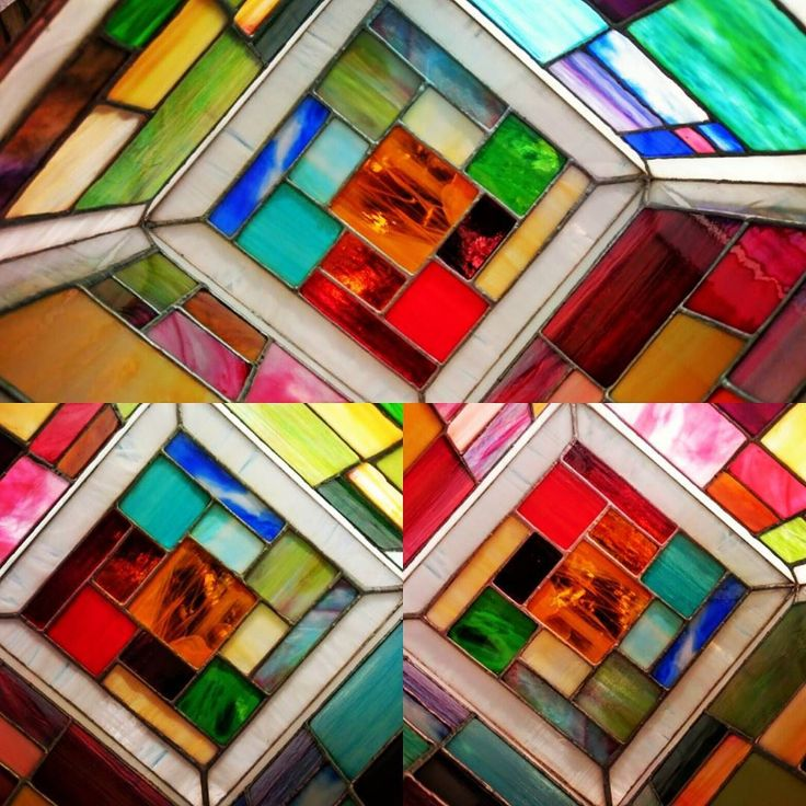 A new aspect: a tiffany lamp  #simple #tiffanyglass #easy #lamp #czinamonglassart #czinamon #rainbow #sunnyday #happy #dream #mosaic #little #piece