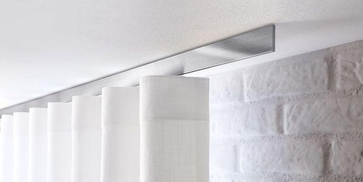 Exceptional quality, #reddotdesign award winning rod systems from Germany #SalonsInterija #curtains #rods #poles #rails Designer Fabrics & Wallcoverings, Upholstary Fabrics