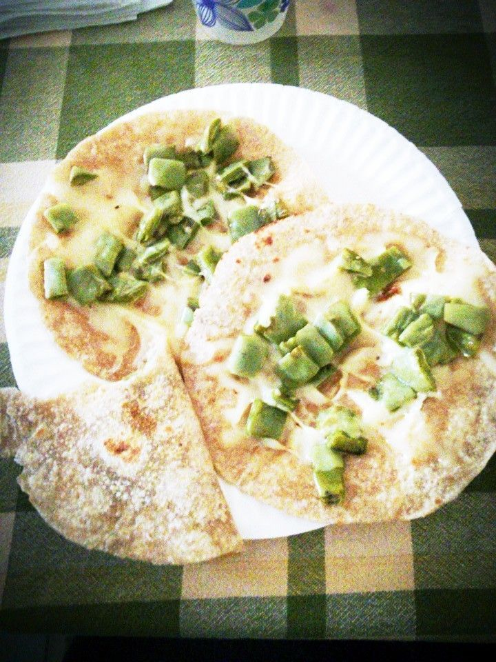 Quesadillas vegetariana #Nopales