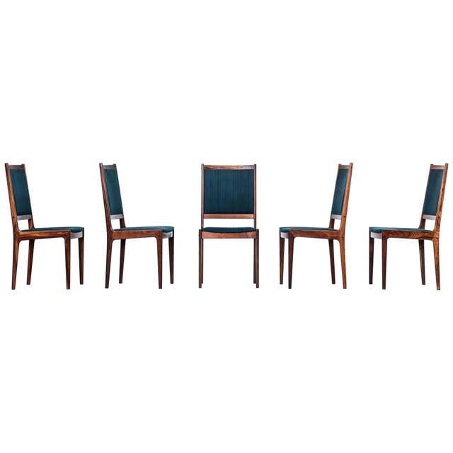 Set Of Ten Midcentury 1960s Dining Chairs In 2020 Rosewood Dining Rosewood Dining Chairs Dining Chairs For Sale
