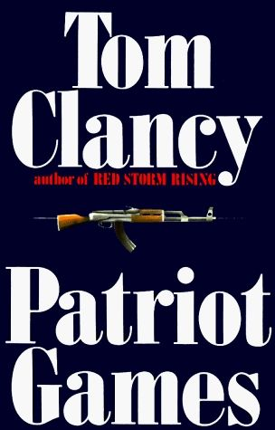 Patriot Games by Tom Clancy. From England to Ireland to America, an explosive wave of violence sweeps a CIA analyst and his family into the deadliest game of our time: international terrorism. An ultra-left-wing faction of the IRA has targeted the CIA man for his act of salvation in an assasination attempt. And now he must pay ... with his life.
