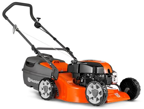 "A versatile lawn mower with a larger 48cm (19"") cutting deck, powerful DOV four stroke engine and four cutting blades to give a superior cut and finish to your lawn. Features include dual ball bearing wheels, comfort grip folding handles with quick action cam locks, safety zone starting, large plastic catcher and ten cutting heights. Comes complete with mulch insert."