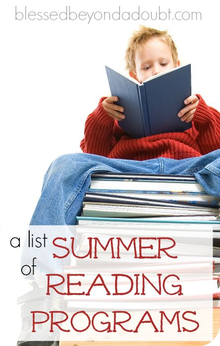 141 best books images on pinterest travel cake children recipes a list of summer reading programs for 2015 fandeluxe Image collections