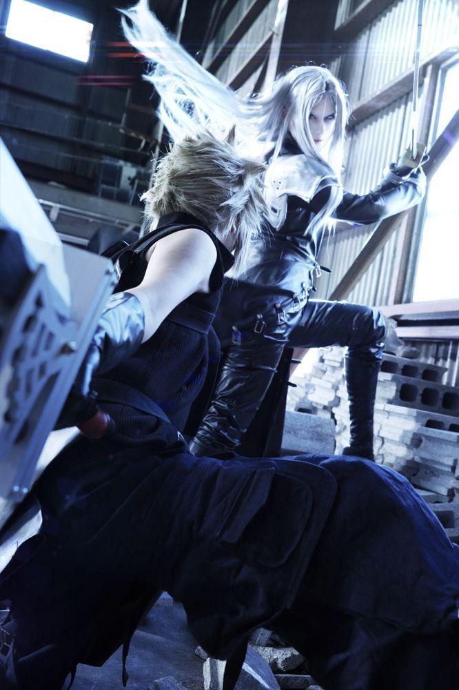 halt Sephiroth & Cloud Strife | Final Fantasy VII @WorldCosplay #anime #cosplay