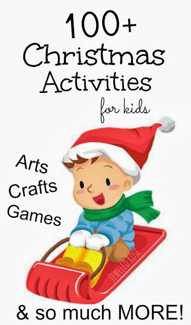 Christmas crafts: An amazing collection of Christmas Activities and crafts for children.