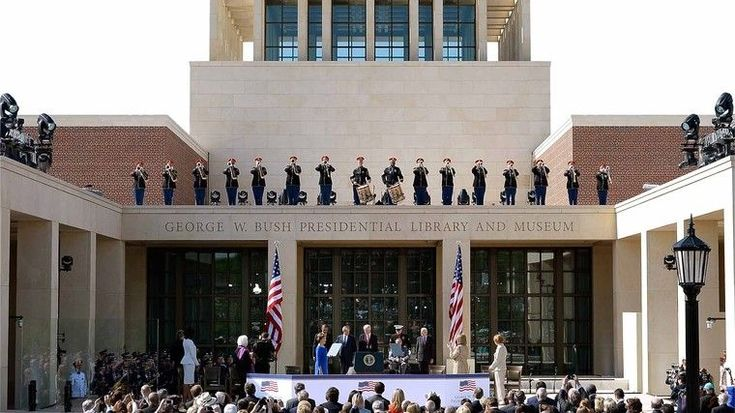 Features Of George W. Bush Presidential Library | Full report at theonion.com