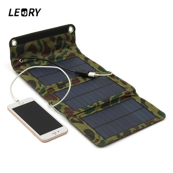 5w Folding Camouflage Solar Panel Charger For Cell Phones Tablets And Electronic Devices Solar Panel Charger Solar Charger Portable Solar Panels